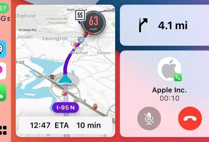 Waze em fase teste no CarPlay do iOS
