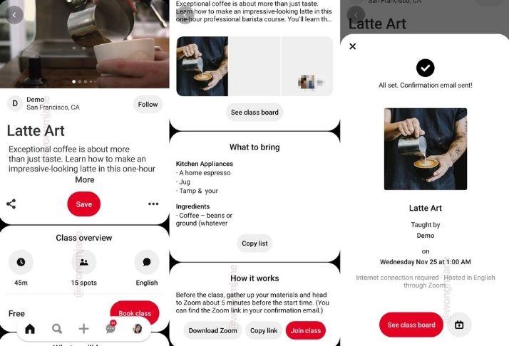 Pinterest testa eventos on-line e comunidades conectadas ao Zoom