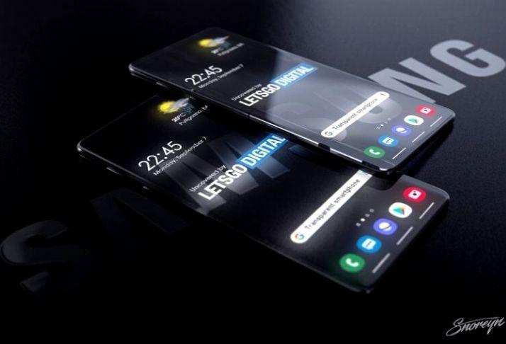Samsung testa o desenvolvimento de um smartphone transparente