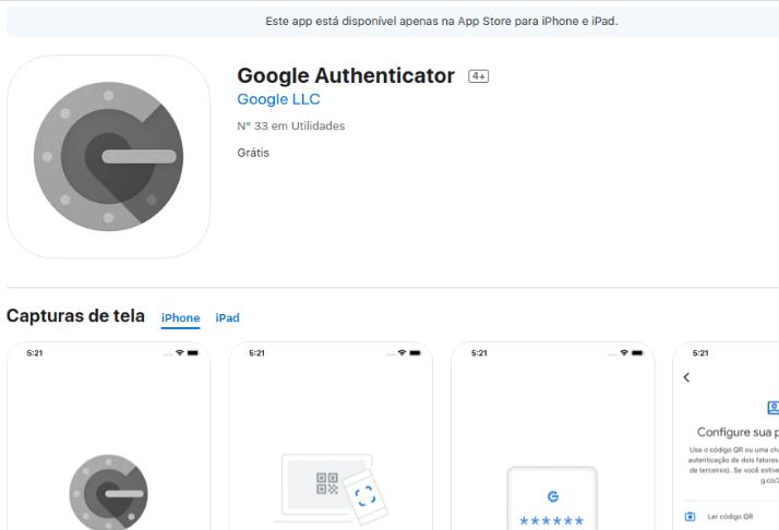 Google Authenticator para iOS recebe novo design e recurso de exportação de conta