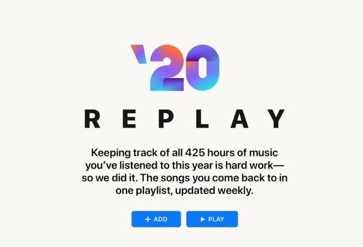 Apple Music Replay 2020: Como ver melhores músicas, álbuns e muito mais!