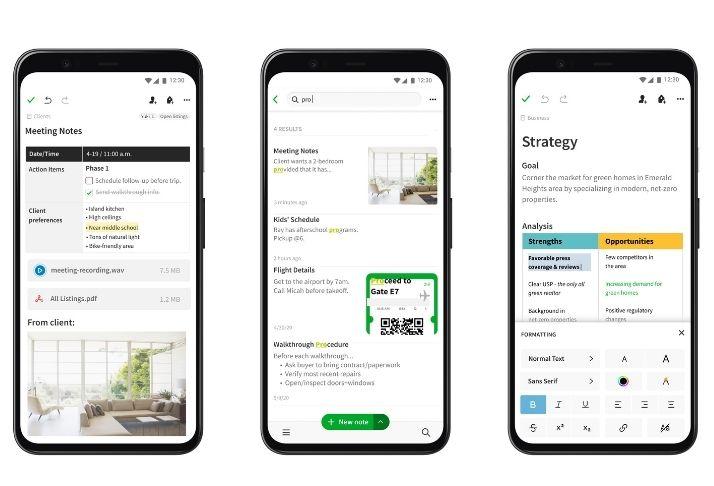 Evernote de cara nova: Atualização no Android recebe novo design