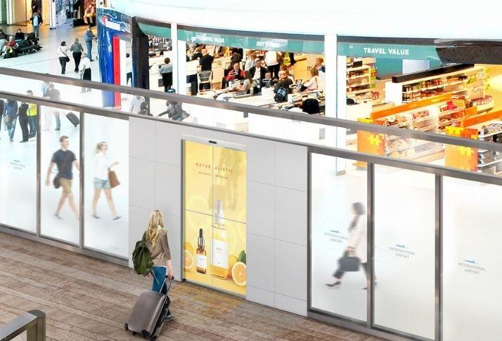 LG anuncia projeto de portas OLED automáticas transparentes