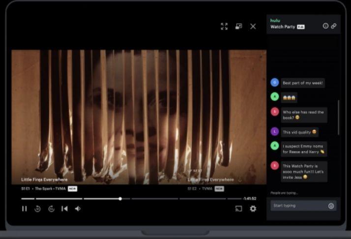 Hulu Watch Party: Ver filmes e séries com amigos e família