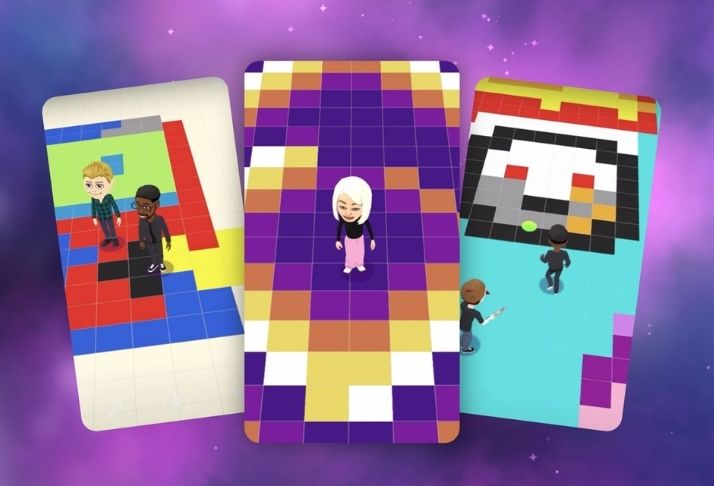 Bitmoji Paint: O jogo de pintura para múltiplos jogadores do Snapchat