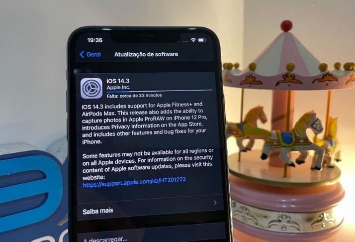 iOS 14.3 chega em dezembro com atualizações e correção de bugs