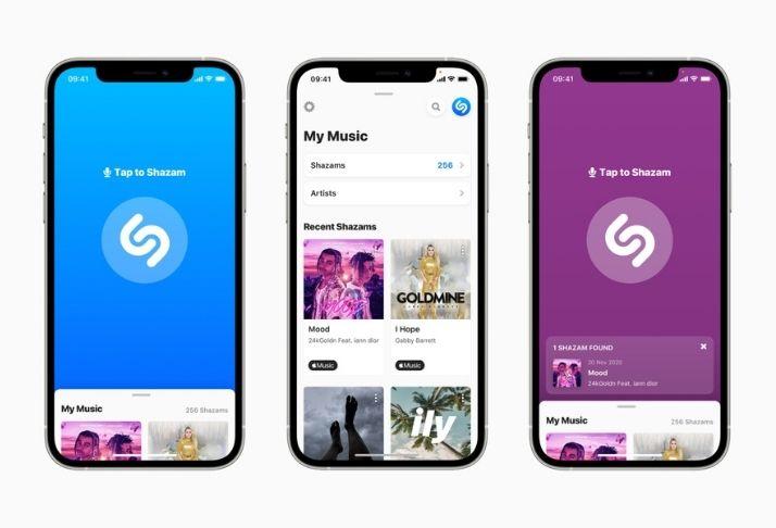 Apple renova interface de usuário do Shazam e lança beta para web