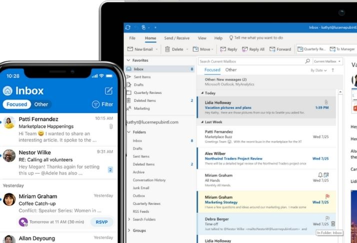 Microsoft One Outlook vai unificar Web e aplicativos Windows 10 no próximo ano
