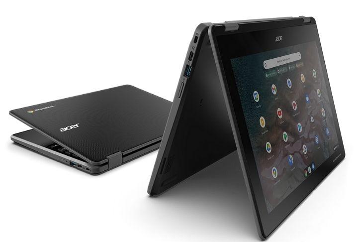 Novos Chromebooks da Acer incluem teclados à prova de líquidos e revestimentos antimicrobianos
